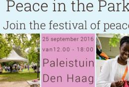 Peace in the Park 2016