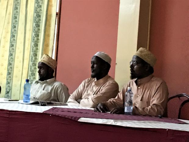 Interfaith dialogue Garissa - muslim leaders