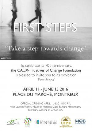 The CAUX-Initiatives of Change Foundation Celebrates 70 Years of Trustbuilding with the Photo Exhibition: « First Steps »