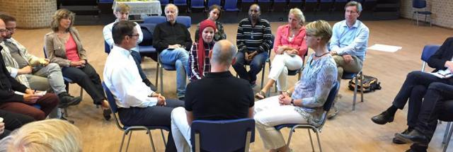 Following decades of worsening tensions, new possibilities are emerging in Järva, a multi-cultural area of Stockholm. Since March 2016, 'Hope in Järva' has run several dialogues in the community, plus two learning festivals, with the focus on inter-generational trust building.
