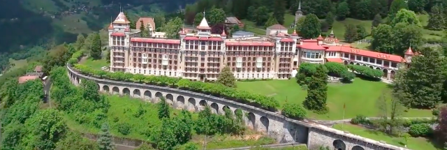 Caux Palace in Zwitserland