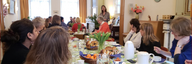 Photo: Uyên Lu - Lunchlezing met Petra Stienen