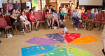 Foto van de kinderconferentie Children as Actors for Transforming Society (CATS) 2018 in Caux